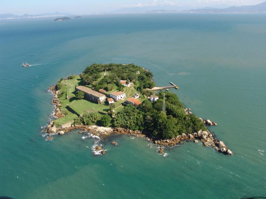 brasil ilha do anhatomirim florianopolis lugares