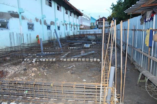 Update Pembangunan Asrama Santri Putri (4-Des-2016)