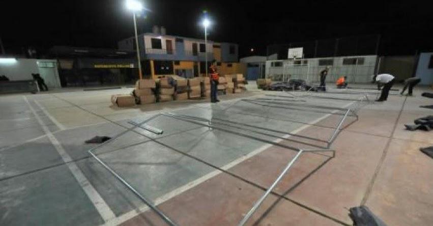 Defensa Civil observó dos colegios de Arequipa por presentar riesgo alto