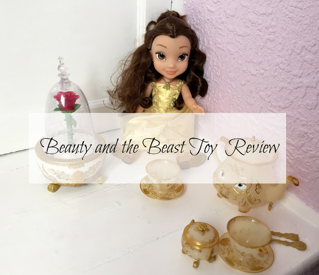 Beauty and the beast toys from Jakks Pacific