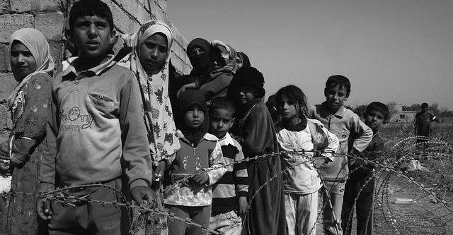 Savaş Orta Doğu Çocuklar