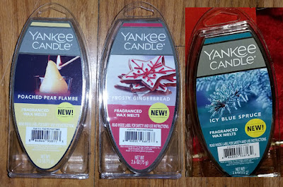 Yankee Candle Wax Melts from Walmart - Winter/Holiday 2018
