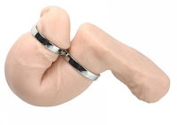 a simple, unique and effective restriction device for male chastity