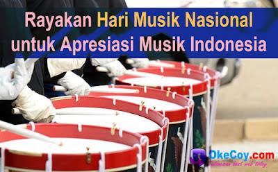 Makna Tujuan & Sejarah Hari Musik Nasional untuk Apresiasi Musik Indonesia