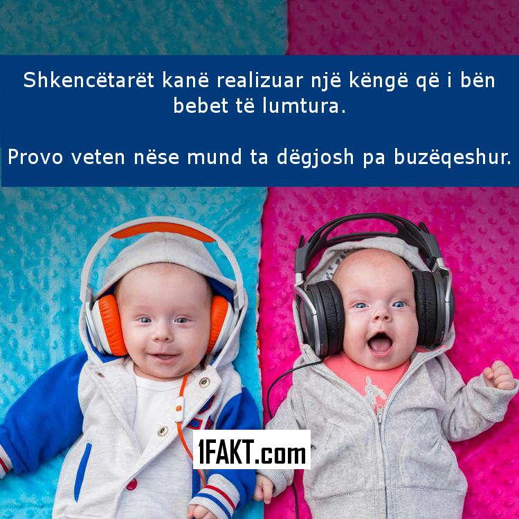 Kënga Shkencore që Bën Bebet të Lumtura