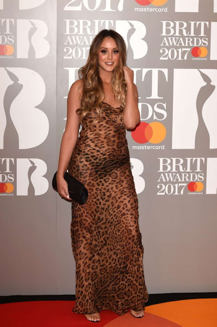 Charlotte Crosby – BRIT Awards 2017 in London