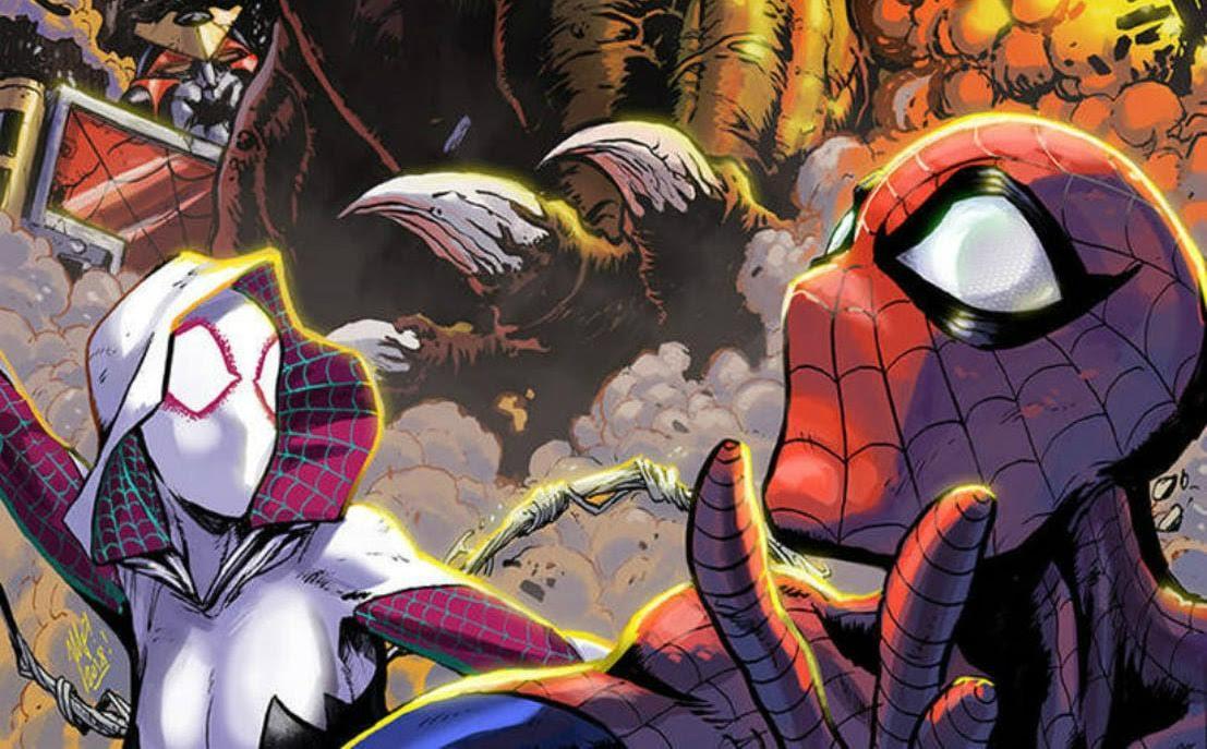 Godzilla - Venomized : エイリアン・シンビオートが、あの怪獣王に寄生したことで、スパイダーマンもグウェンも、もう逃げるしかないヴェノムジラ ! !