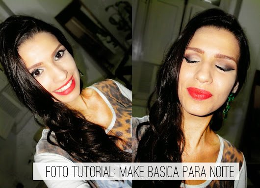 Foto Tutorial - Make Curinga para Noite