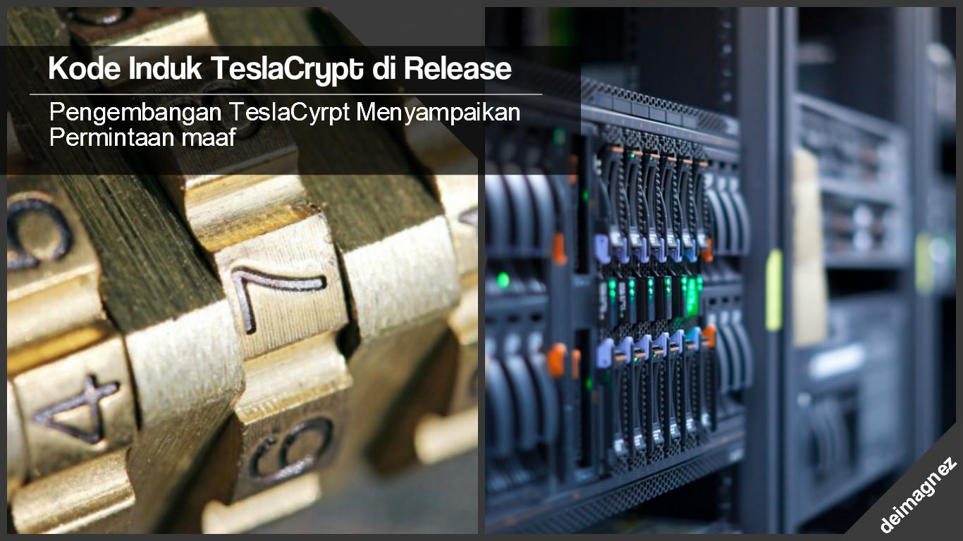 Pengembang Ransomware TeslaCrypt Pensiun dan memberikan Password Gratis