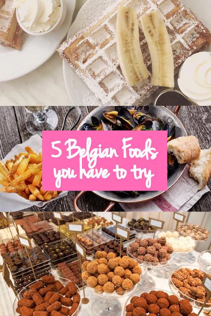 Top 5 foods to try in Belgium