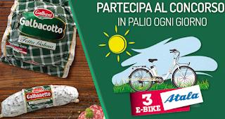 Logo Con Salumi Galbani vinci 78 e-bike Atala