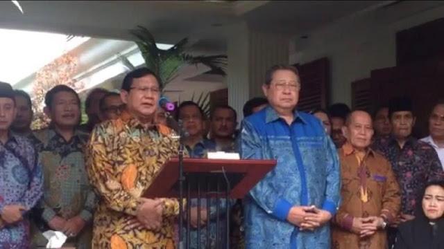 Didukung SBY Jadi Capres, Prabowo: Kami Punya DNA Mantan TNI