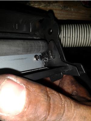 toner cartridge open