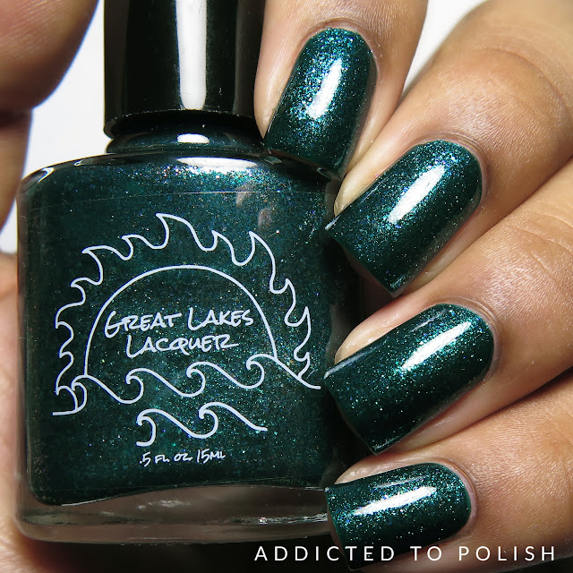 Great Lakes Lacquer I'd Rather Be Fishing May 2016 LEs