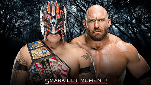 WWE Payback 2016 Ryback vs Kalisto US Title Match