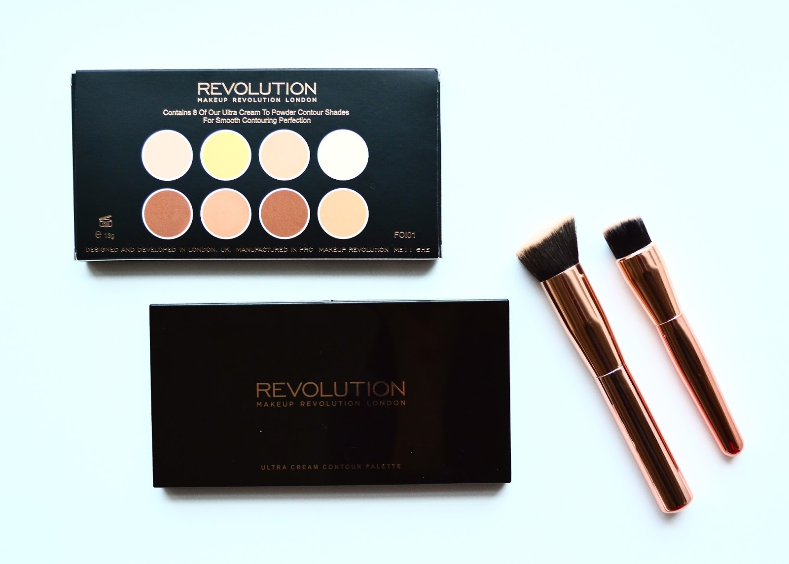 Makeup Revolution, Makeup Revolution Ultra Cream Contour Palette, Cream Contour, Contouring, Highlighting