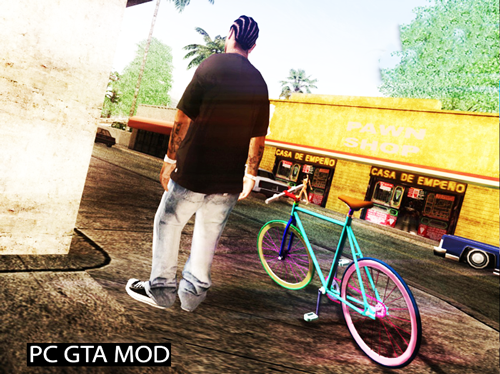 Free Download Fixed Gear DEX R0 Mod for GTA San Andreas.