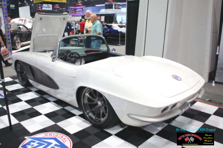 EZ-UP CANOPIES Displayed a Custom 1961 Corvette