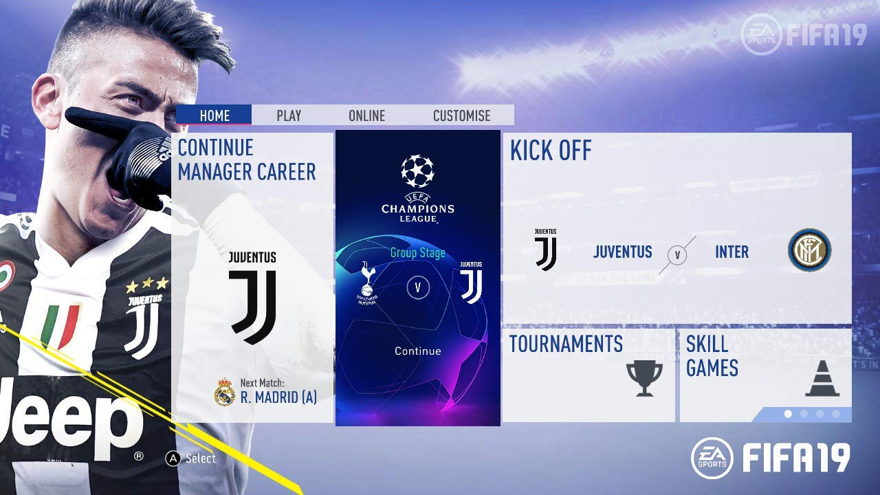 New Games: FIFA 19 (PC, PS4, PS3, Xbox One, Xbox 360, Switch) | The