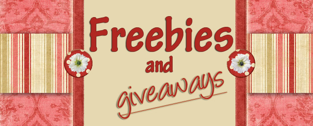 *NEW* Freebies and Giveaways