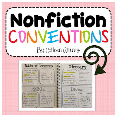 https://www.teacherspayteachers.com/Product/Nonfiction-Conventions-for-Journals-2841959