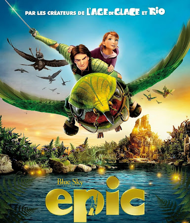 Poster Of Epic 2013 In Hindi Bluray 720P Free Download