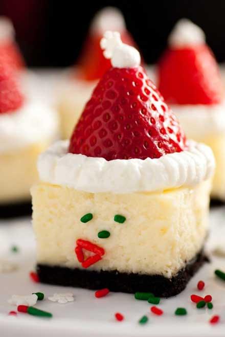 пирожные на новый год