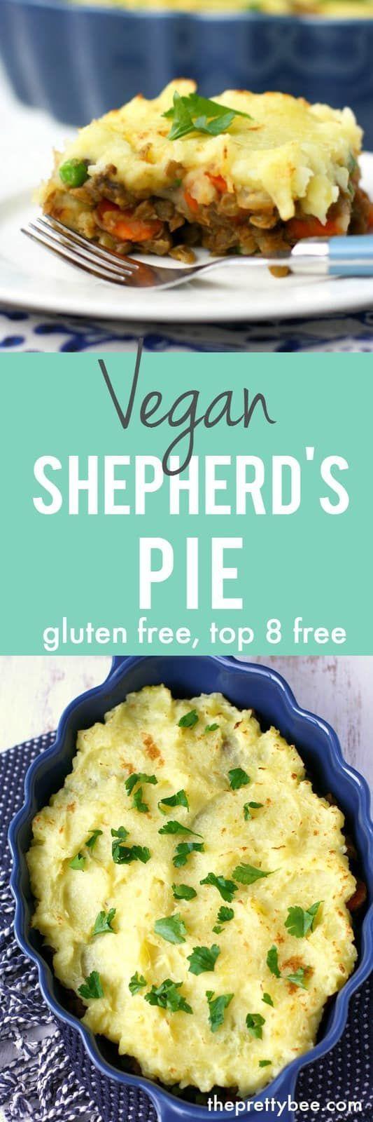 Low Carb Vegan Shepherd's Pie.