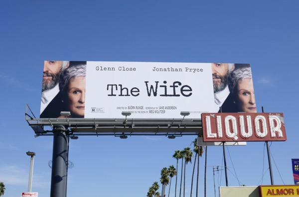Wife movie billboard