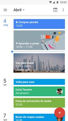 aplicativos de organização