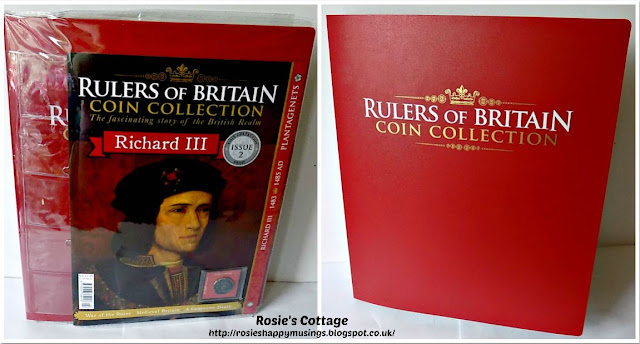 Rulers of Britain Coin Collection Issue Two