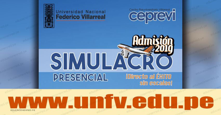 Resultados UNFV 2019 (Domingo 31 Marzo) Lista de Aprobados SIMULACRO PRESENCIAL de Examen Admisión CEPREVI - Universidad Nacional Federico Villarreal - www.unfv.edu.pe
