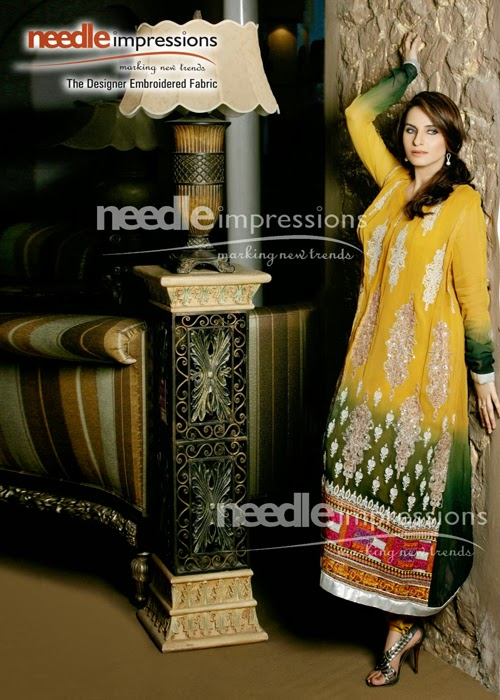 Best of Needle impressions Designs of Frocks