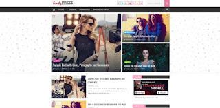 beauty press blogger template 2018