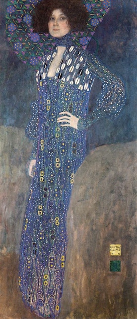 エミーリエ・フレーゲの肖像 1902年 クリムト、官能と黄金の画家とは?クリムトの見ておきたい絵画14選【a】