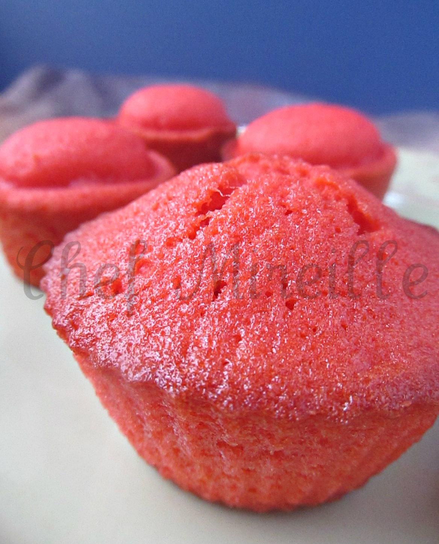 Watermelon Cupcakes - The Schizo Chef