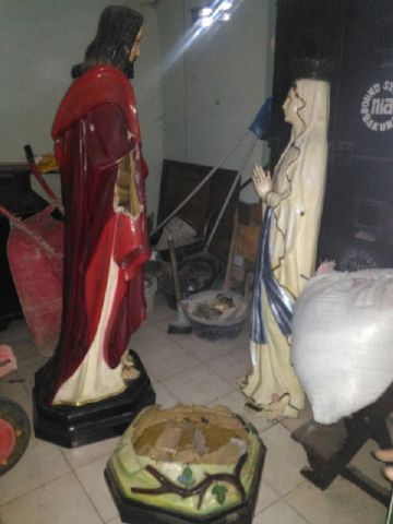Gereja Katolik di Klaten Dirusak, Patung Bunda Maria Dibuang ke Sungai