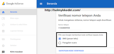 Cara mendaftarkan blog kegoogle adsense 4