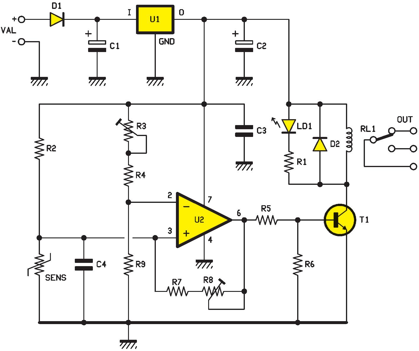Shemas Electroniques Un Thermostatogique 20 A 35 C