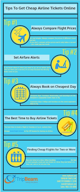 How To Get Cheap Airline Tickets Online?