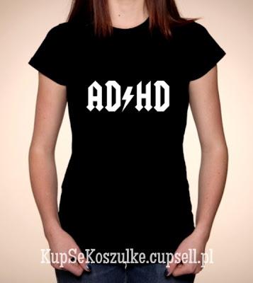 koszulka AD HD damska