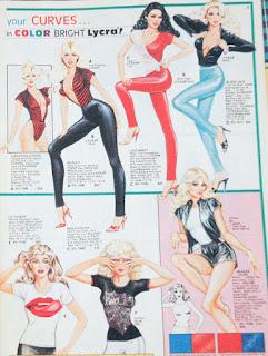 curves, pinup, blonde, art, vintage, vintage fashion,
