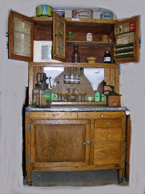 Heroes Heroines And History The Hoosier Cabinet