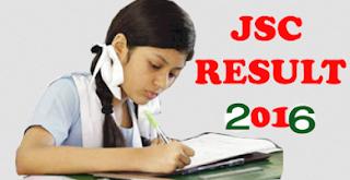 JSC Result 2016 Dhaka board