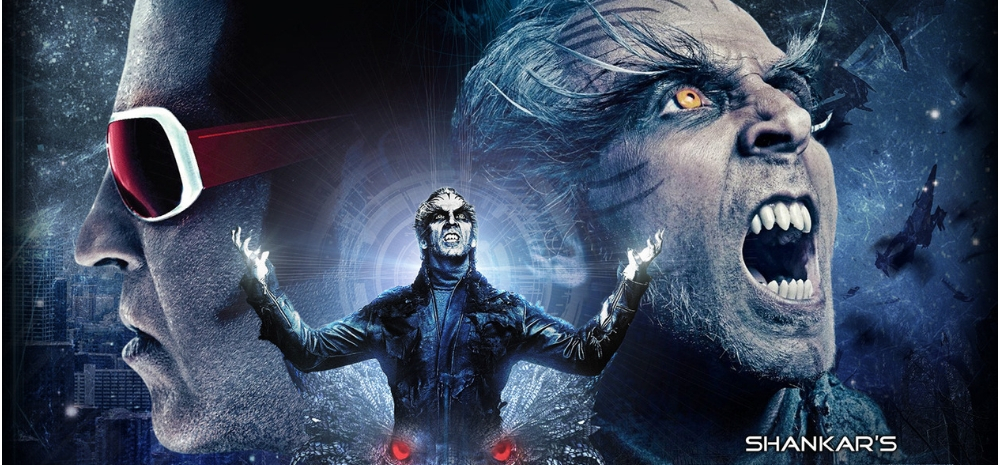 2.0 film takes massive opening at the box office collection Day 1