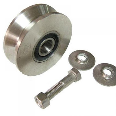 change gate wheel roller