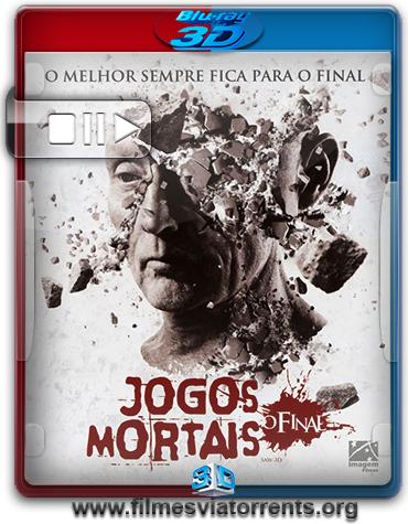 Jogos Mortais - O Final Torrent - BluRay Rip 3D HSBS 1080p Dual Áudio 5.1 (2010)