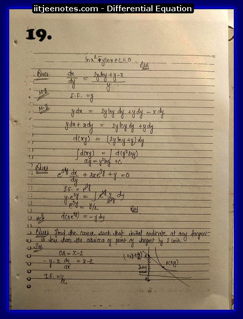 differential equation notes6