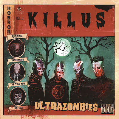 Killus - Ultrazombies - cover album - 2016