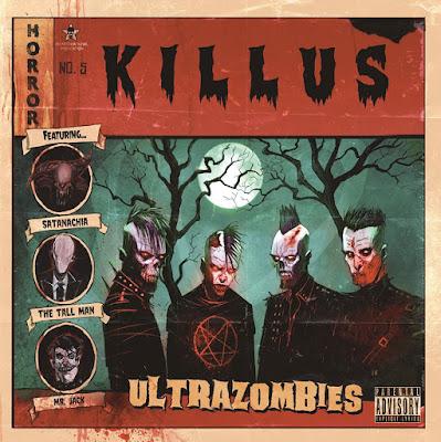 Killus - Ultrazombies - cover album - 2016